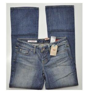 Express X2 Slim W10 Jeans Size 6 Low Rise Bootcut